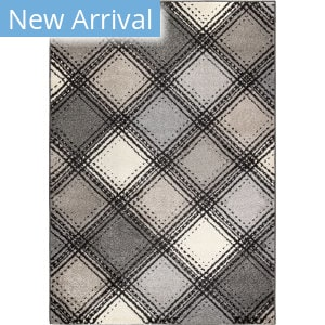 Orian American Heritage Soho Diamonds Black Area Rug
