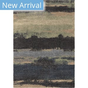 Orian Wild Weave Canyon Steel Blue Area Rug