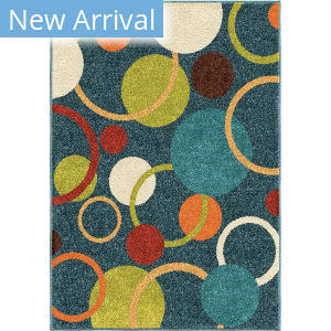 Orian Kids Court Gumball Admiral Blue Area Rug