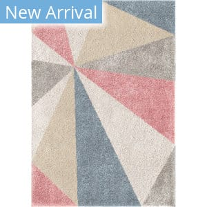 Orian Grand Tapis Umbrella Rose Area Rug
