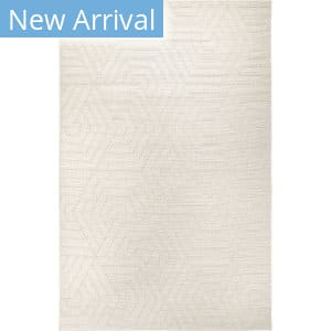 Orian Jersey Home Hexabulous Ivory Area Rug