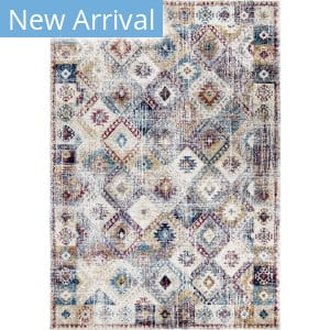 Orian Bali Afternoon Showers White Area Rug