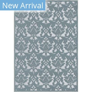 Orian Boucle Devonshire Harbor Blue Area Rug