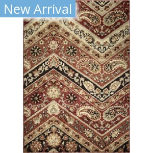 Orian American Heritage Paisley Point Rouge Area Rug