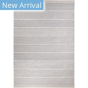 Orian Jersey Home Full Stripes Ahead Gray Area Rug