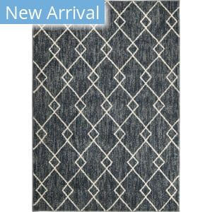 Orian Sedona Criss Cross Denim Area Rug