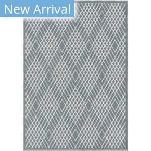 Orian Boucle Ravinia Harbor Blue Natural Area Rug
