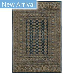 Oriental Weavers Ankara 602k5 Blue - Gold Area Rug