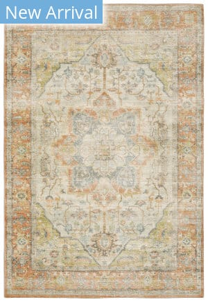 Oriental Weavers Savoy 28101 Orange - Blue Area Rug