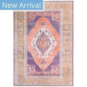 Oriental Weavers Sofia 85822 Purple - Orange Area Rug
