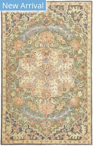 Oriental Weavers Alfresco 28401 Blue - Green Area Rug