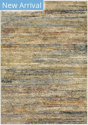 Rugstudio Sample Sale 189540R Gold - Green Area Rug