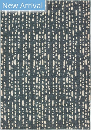 Oriental Weavers Carson 9673b Blue - Ivory Area Rug