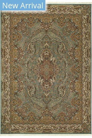 Oriental Weavers Masterpiece 502l2 Blue - Gold Area Rug