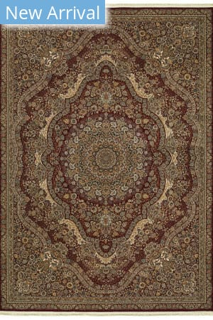 Oriental Weavers Masterpiece 8022r Red - Gold Area Rug