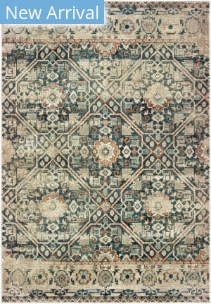 Oriental Weavers Raleigh 4925l Blue - Ivory Area Rug