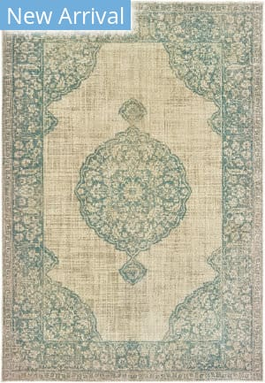 Oriental Weavers Raleigh 099j5 Ivory - Blue Area Rug