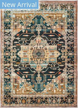 Oriental Weavers Sedona 9592b Blue - Gold Area Rug