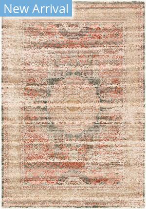 Oriental Weavers Toscana 9564a Ivory - Orange Area Rug