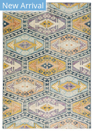 Oriental Weavers Xanadu 003b6 Blue - Multi Area Rug