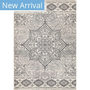 Palmetto Living Adagio Paisley Points Muted Blue Area Rug