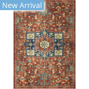 Palmetto Living Alexandria Serapi Red Area Rug