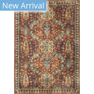 Palmetto Living Alexandria Bombay Red Area Rug