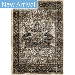 Palmetto Living Aria Ushak Off White Area Rug