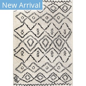 Palmetto Living Casablanca Tribal 10 White Area Rug
