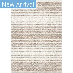 Palmetto Living Cotton Tail Ombre Stripe Taupe Area Rug