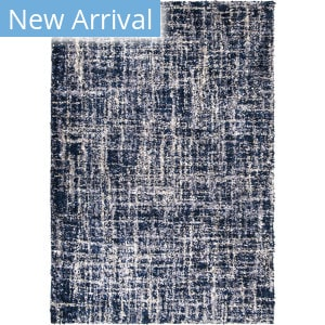 Palmetto Living Cotton Tail Cross Thatch Navy Area Rug