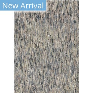 Palmetto Living Next Generation Multi Solid Muted Blue Area Rug