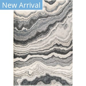Palmetto Living Mystical Cascade Taupe Inkwell Area Rug