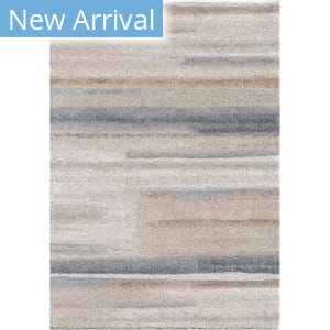 Palmetto Living Mystical Modern Motion Muted Blue Area Rug