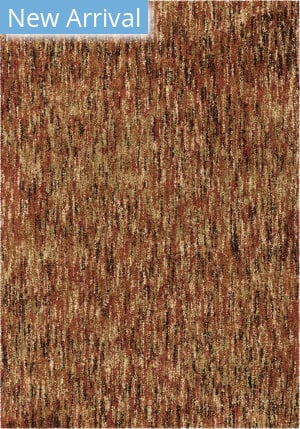 Palmetto Living Next Generation Multi Solid Red Area Rug