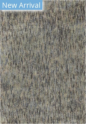 Palmetto Living Next Generation Multi Solid Blue Area Rug