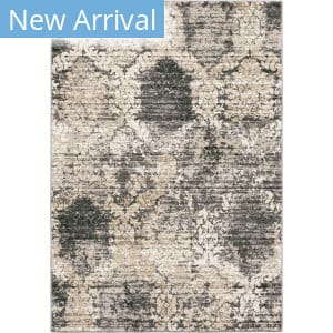 Palmetto Living Riverstone Oxford Burst Cloud Grey Area Rug