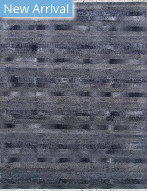 Pasargad Transitional Grass-Nvy Navy - Silver Area Rug