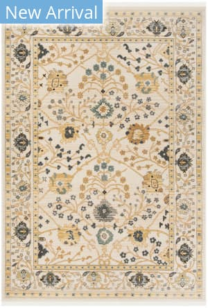 Ralph Lauren Power Loomed Lrl1216r Beige - Charcoal Area Rug