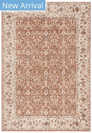 Ralph Lauren Power Loomed Lrl1345b Beige - Light Rust Area Rug