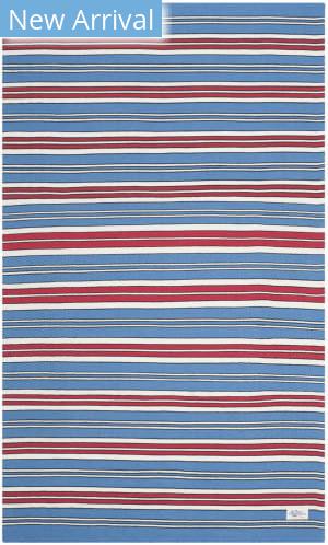 Ralph Lauren Flatweave Lrl2462d Royal Blue Area Rug