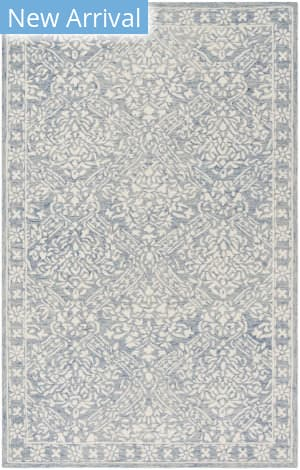 Ralph Lauren Hand Tufted Lrl6935m Blue - Ivory Area Rug