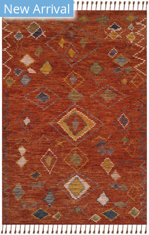 Ralph Lauren Hand Knotted Lrl7545a Currant Area Rug