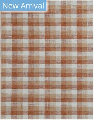 Ramerian Tartan TRA-10 Orange Area Rug