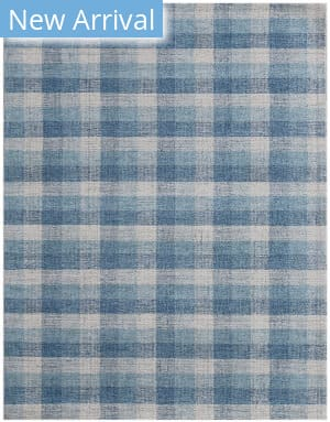 Ramerian Tartan TRA-11 Light Blue Area Rug