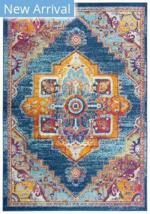Rizzy Rothport Rtp101 Navy Area Rug