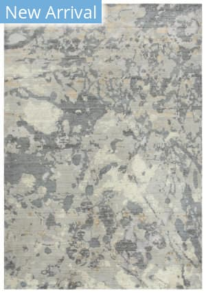 Rizzy Impressions Imp104 Gray - Ivory Beige Area Rug