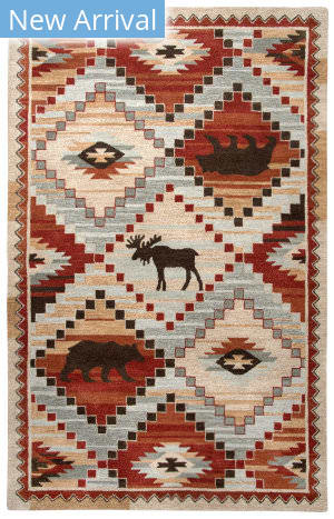 Rizzy Northwoods Nwd103 Red Area Rug