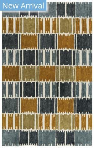 Rizzy Tetra Tet101 Gray - Brown Area Rug