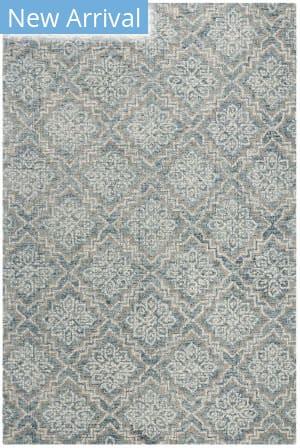 Safavieh Abstract Abt201a Blue - Grey Area Rug